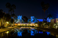 House of Hospitality/Lily Pond at Night