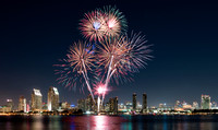 Fireworks Over San Diego Bay 3