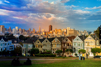 Painted Ladies/San Francisco Day/Golden Hour/Dusk Blend
