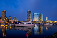Marriott Marina Blue Hour